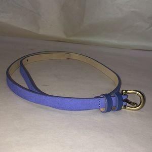 Ann Taylor Loft periwinkle XS belt